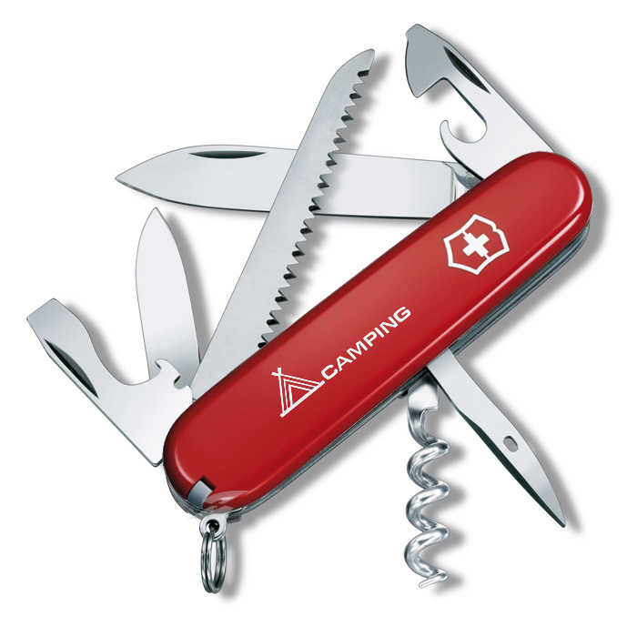 Camper Red Swiss Army Knife
