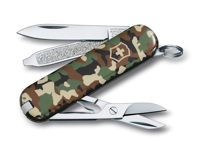 Classic SD Camo Swiss Army Knife