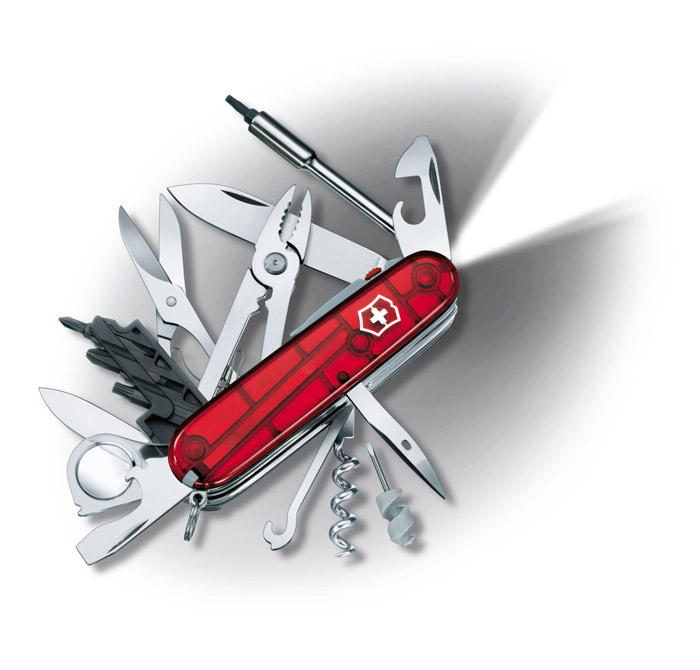 Cybertool Lite Swiss Army Knife
