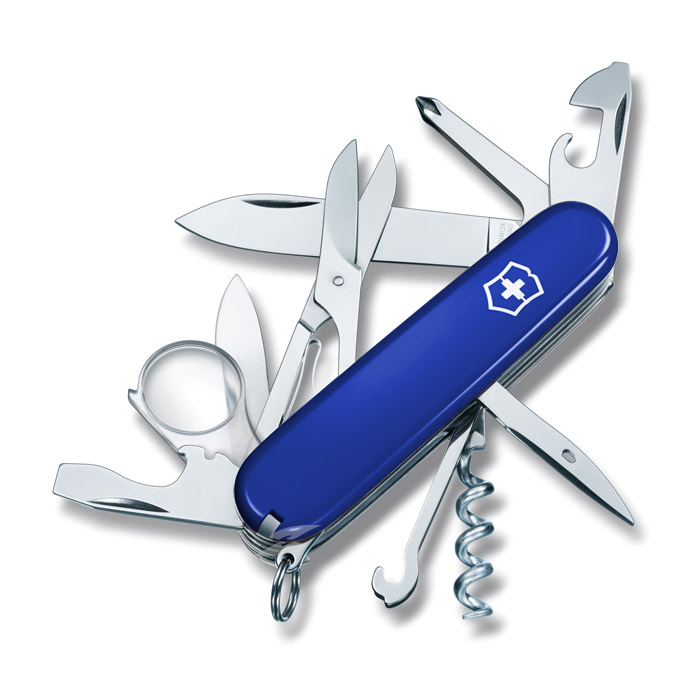 Explorer Blue Swiss Army Knife