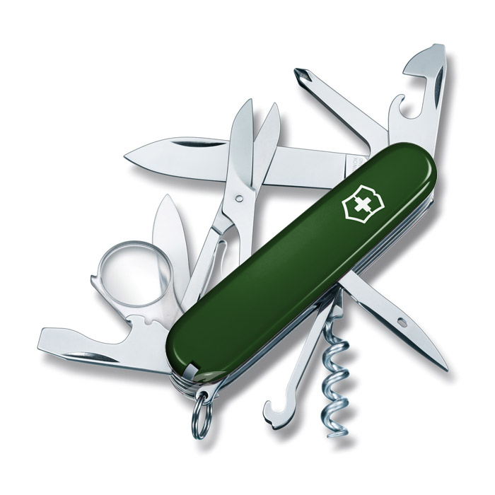 Explorer Green Swiss Army Knife