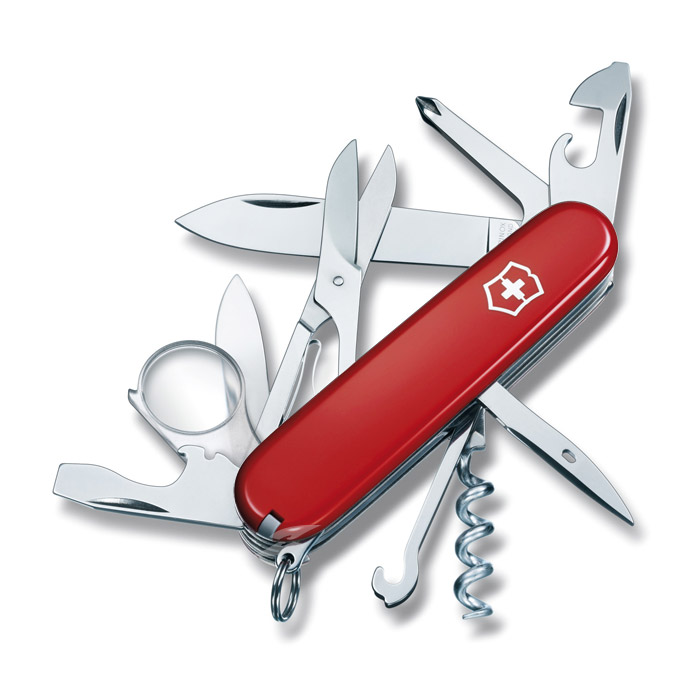 Explorer Red Swiss Army Knife