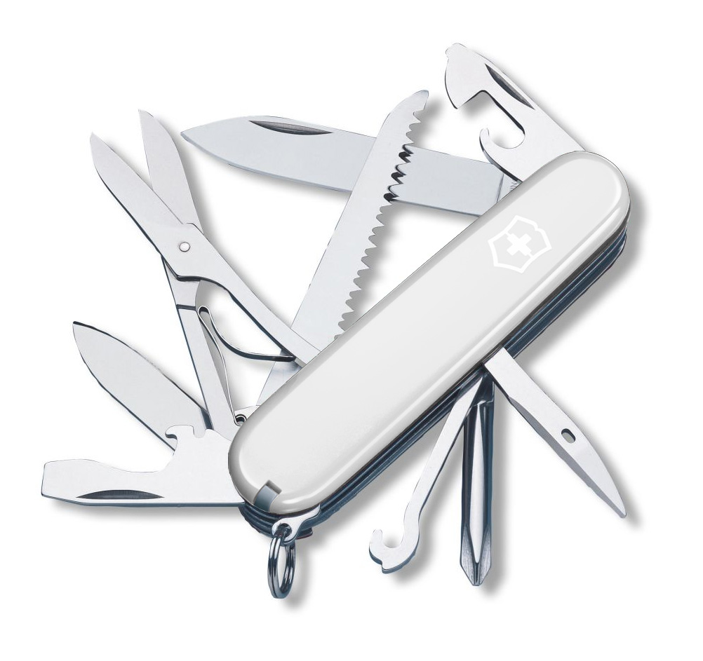 Fieldmaster White Victorinox Swiss Army Knife