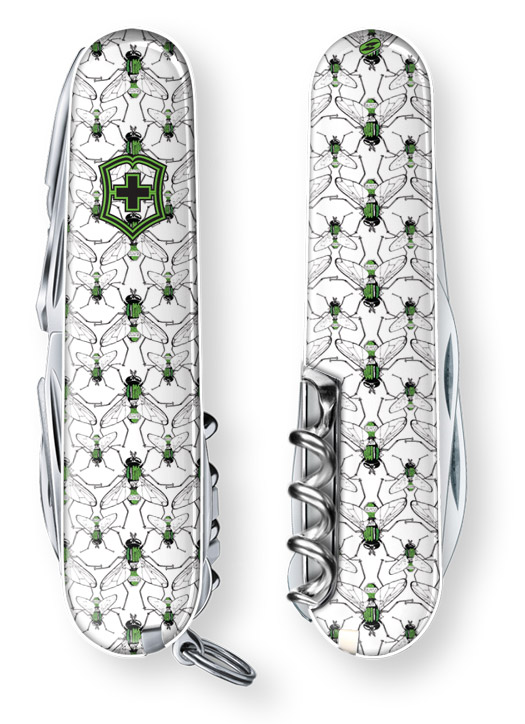 Green Fly Swiss Army Knife