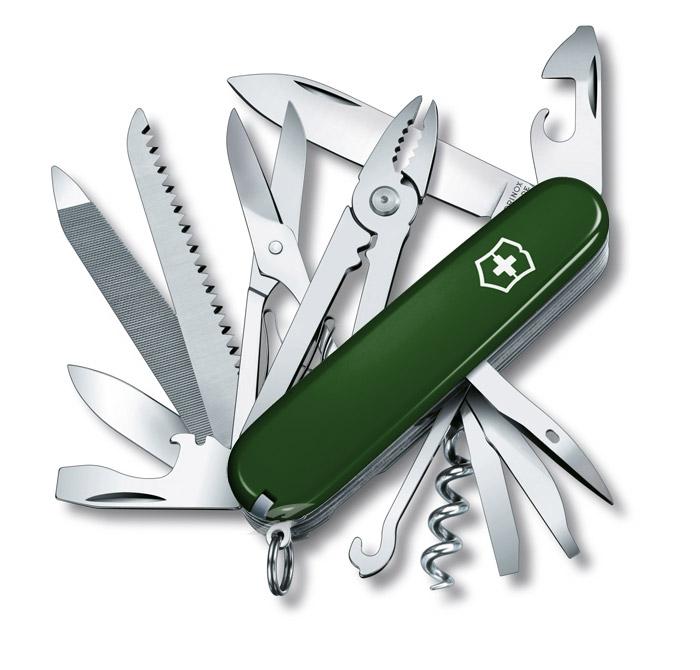 Handyman Green Swiss Army Knife