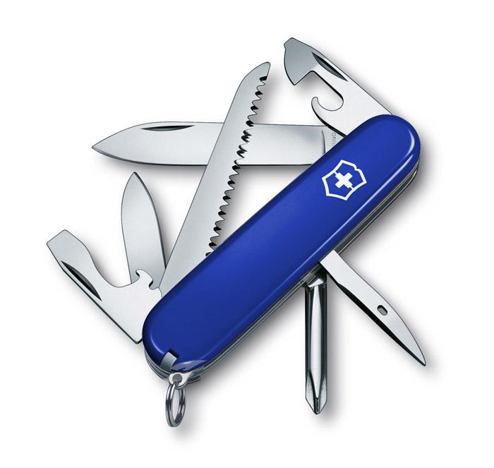 Hiker Blue Swiss Army Knife