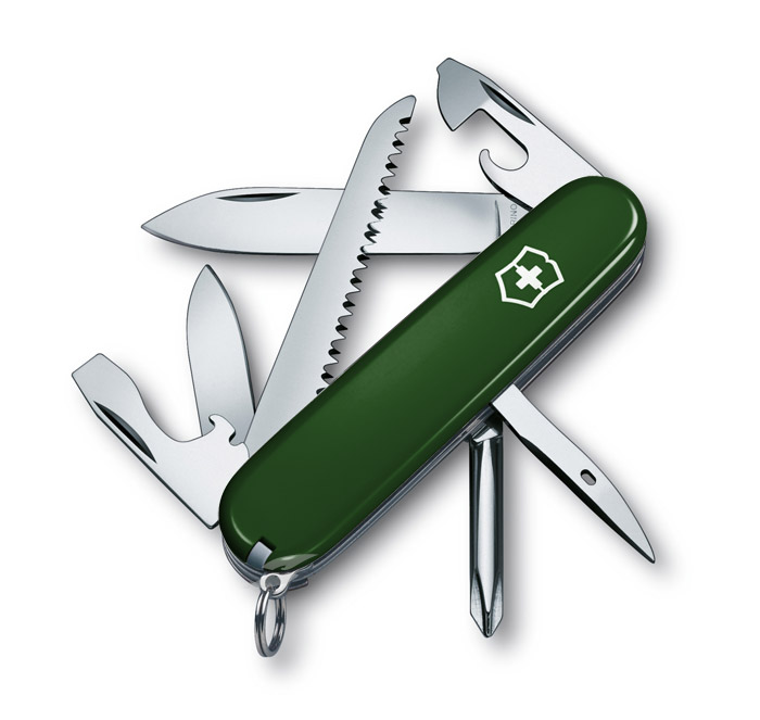 Hiker Green Swiss Army Knife