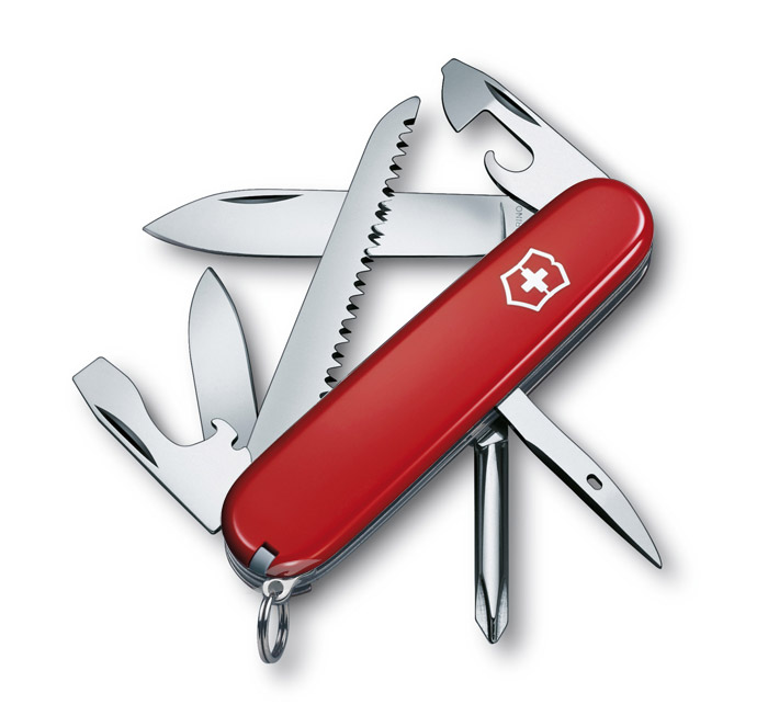 Hiker Red Swiss Army Knife