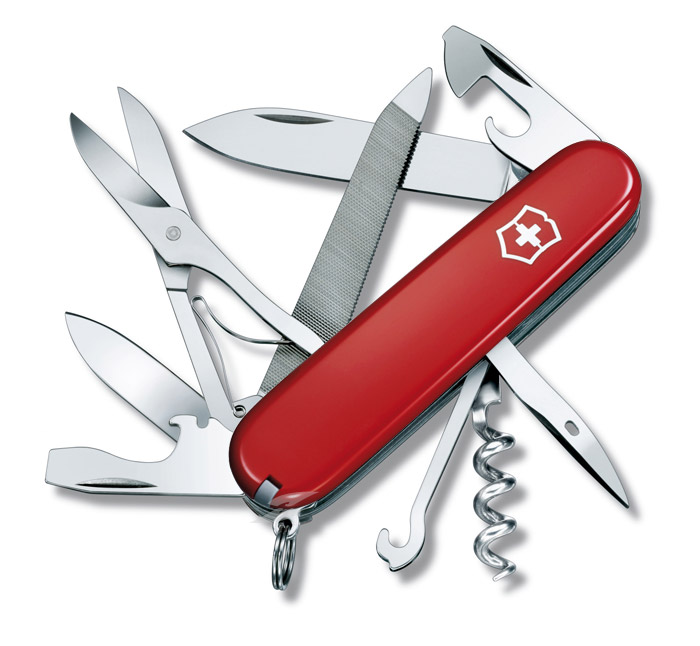 Mountaineer Red Swiss Army Knife