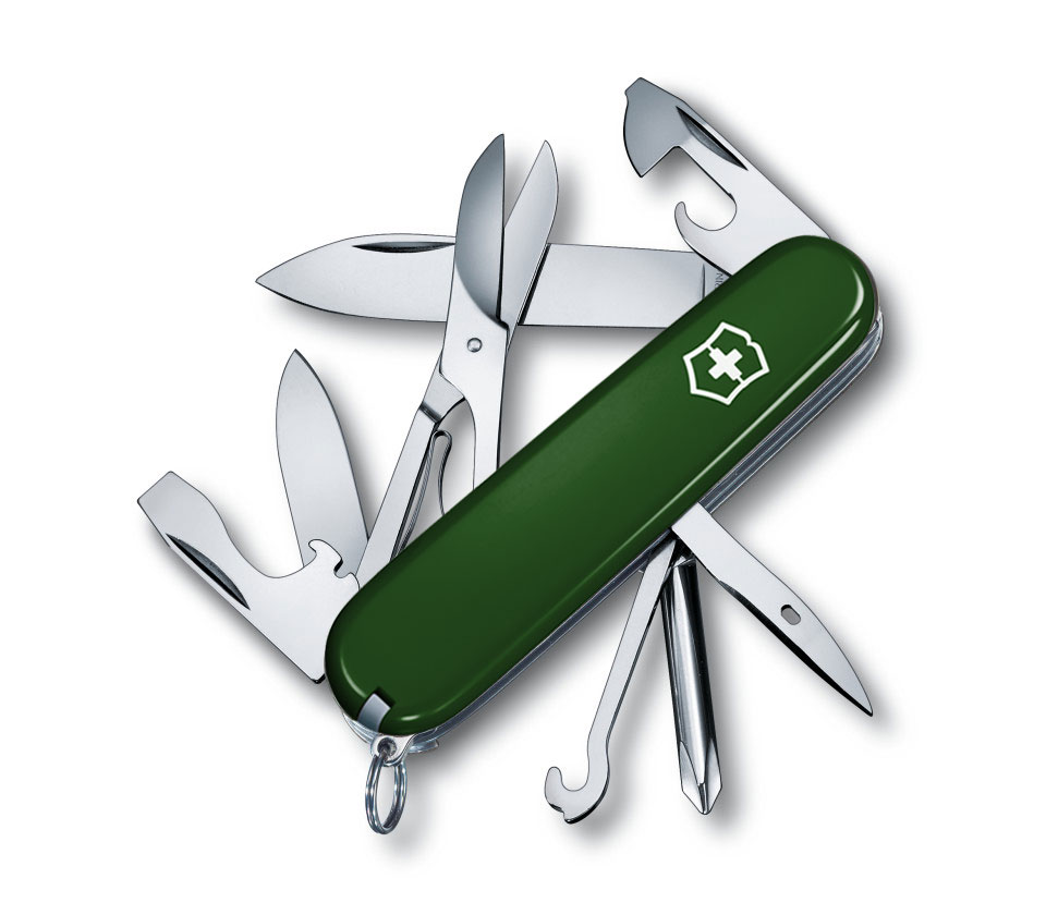Super Tinker Green Victorinox Victorinox Swiss Army Knife