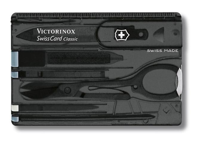 SwissCard Classic Onyx Swiss Army Knife