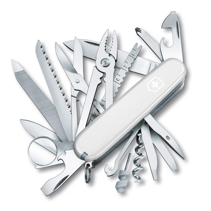 Swisschamp White Swiss Army Knife