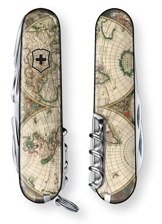 World Map 1689 Special Edition Swiss Army Knife