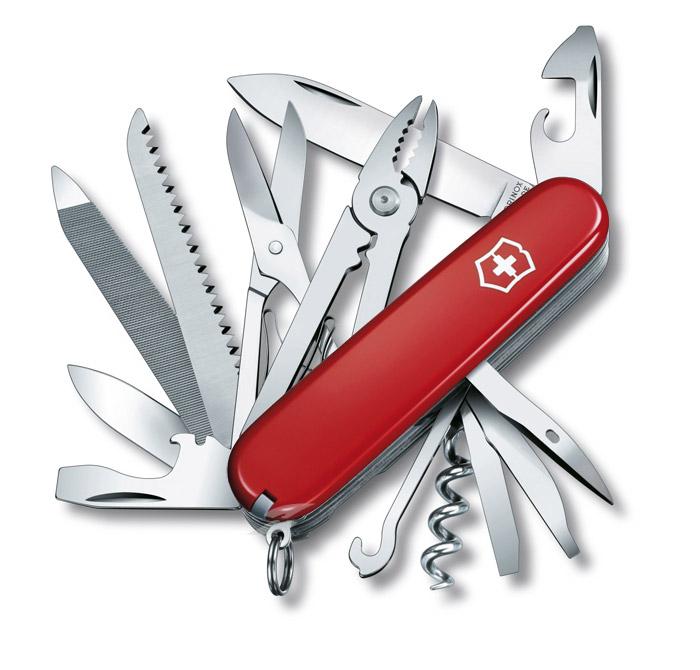 Handyman Red Swiss Army Knife