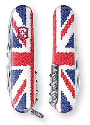 Union Jack Special Edition Swiss Army Knife