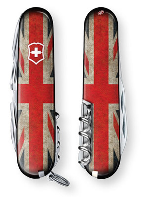 Vintage Union Jack Special Edition Swiss Army Knife