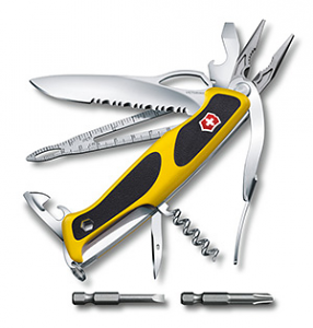 Compact Green Swiss Army Knife